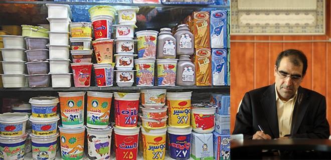 انتقاد شدید وزیر بهداشت از استفاده از روغن پالم در تولید محصولات لبنی