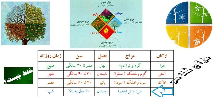 لیست مواد غذایی به تفکیک طبع - مرجع طب سنتی ایرانی اسلامی | سایت ...