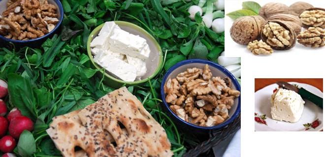 آیا می دانید که خوردن پنیر خصوصاً همراه گردو به غیر از صبحانه دواست و الا مرض است؟