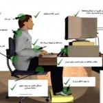 توصیه بهداشتی به کاربران کامپیوتر
