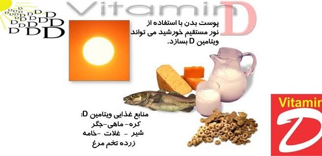 توصیه بهداشتی: افزایش طول عمر با دریافت ویتامین D