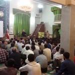 سخنرانی آقای دکتر روازاده در مسجد جامع کمالشهر