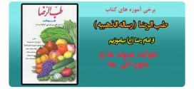 فواید میوه ها و خوراکی ها – برخی آموزه های کتاب طب الرضا – بخش پنجم