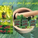 غذا درمانی اولین گام در درمان