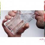 منع خوردن آب همراه با میوه های آب دار