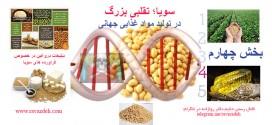 سویا؛ تقلبی بزرگ در تولید مواد غذایی جهانی – بخش چهارم