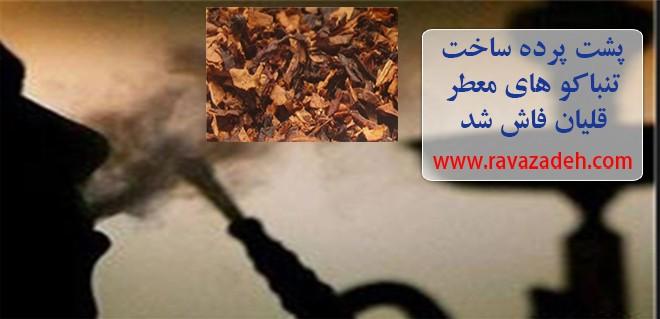 پشت پرده ساخت تنباکو های معطر قلیان فاش شد