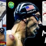 """رواج """"بادکش"""" در بین ورزشکاران حاضر در المپیک ۲۰۱۶ ریو"""