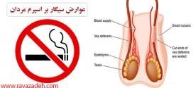 عوارض سیگار بر اسپرم مردان