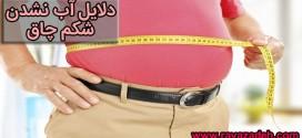 دلایل آب نشدن شکم چاق