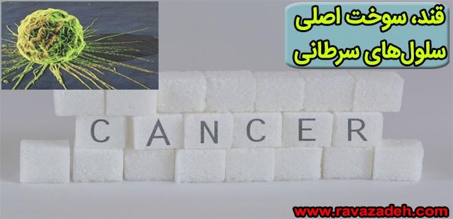 قند سوخت اصلی سلولهای سرطانی