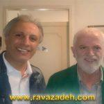 دکتر روازاده و علی فروتن