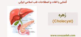 آشنایی با لغات و اصطلاحات طب اسلامی ایرانی: زَهره (Cholecyst)