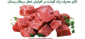 تاثیر مصرف زیاد گوشت بر افزایش خطر سرطان پستان