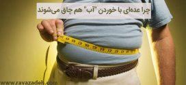 """چرا عدهای با خوردن """"آب"""" هم چاق میشوند + راهکارهای لاغری"""