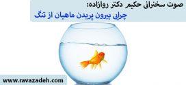 صوت سخنرانی حکیم دکتر روازاده: چرایی بیرون پریدن ماهیان از تنگ