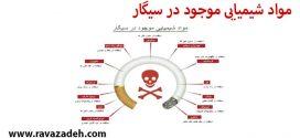 مواد شیمیایی موجود در سیگار
