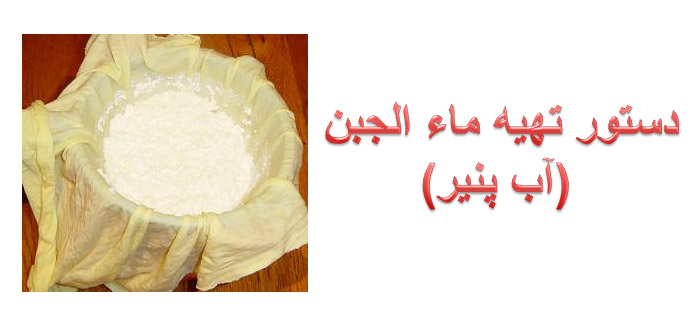 Photo of دستور تهیه ماء الجبن (آب پنیر)