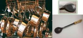 آیا می دانید که زنگ زدگی کفگیر آهنی حسوم نه تنها بی خطر بوده و ضرری ندارد بلکه مفید است!