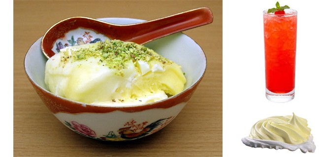 طرز تهیه بستنی و یخ در بهشت