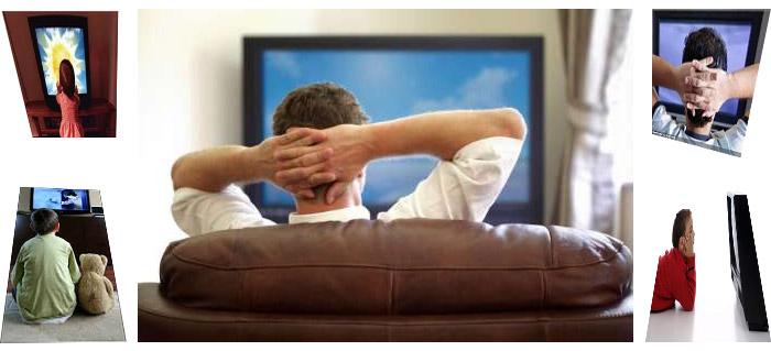 Photo of خطر مشاهده تلویزیون در وضعیت بی تحرک