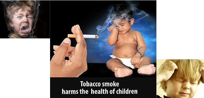 تخریب ساختار مغزی کودکان با سیگار