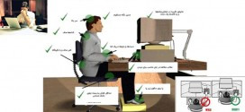 توصیه بهداشتی: تدابیر مربوط به افرادی که با کامپیوتر زیاد کار می کنند