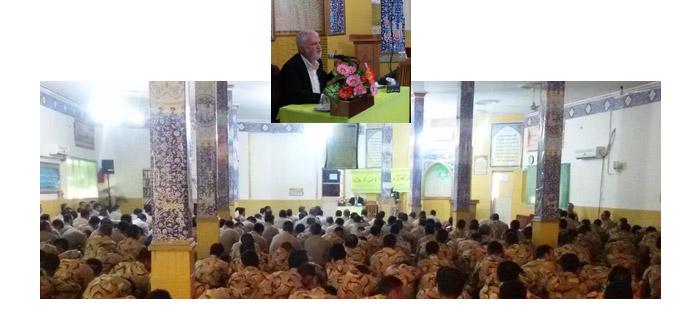 Photo of گزارش سخنرانی آقای دکتر روازاده در پادگان پدافند هوایی نزاجا