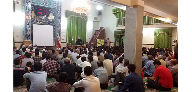 گزارش سخنرانی آقای دکتر روازاده در مسجد جامع کمالشهر