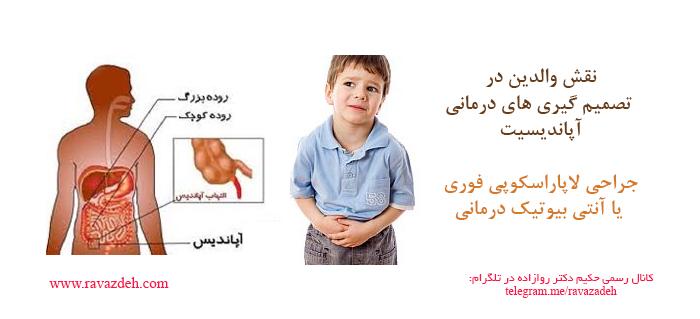 Photo of نقش والدین در تصمیم گیری های درمانی آپاندیسیت