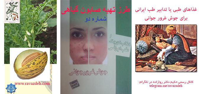 Photo of غذاهای طبی یا تدابیر طب ایرانی برای جوش غرور جوانی: صابون گیاهی 2