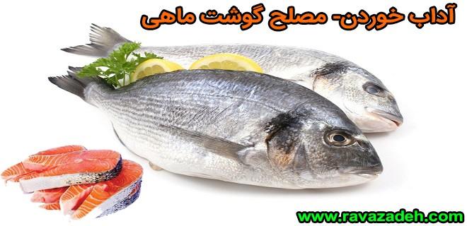 آداب خوردن- مصلح گوشت ماهی