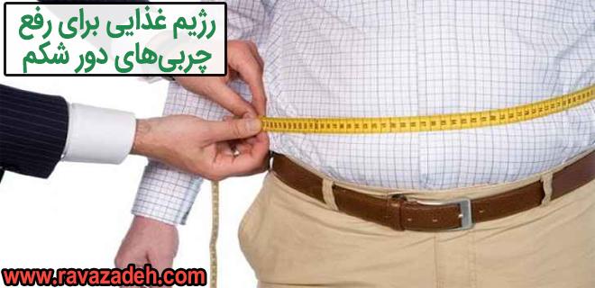 Photo of رژیم غذایی برای رفع چربی های دور شکم