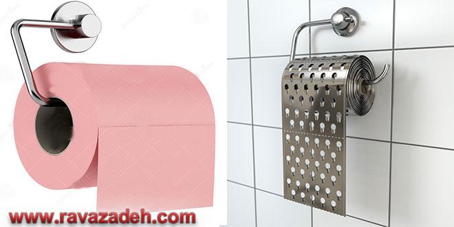 خطرات دستمال کاغذی برای سلامت خانمها