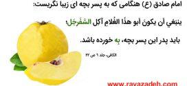 میوه بِه بخورید…