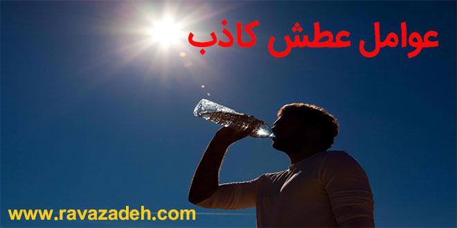عوامل عطش کاذب