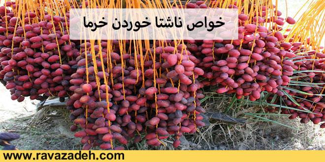 Photo of خواص ناشتا خوردن خرما