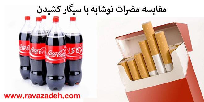 Photo of مقایسه مضرات نوشابه با سیگار کشیدن