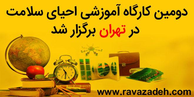 دومین کارگاه آموزشی احیای سلامت در تهران برگزار شد