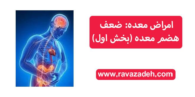 Photo of امراض معده: ضعف هضم معده (بخش اول)