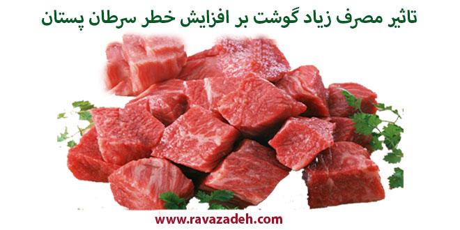 Photo of تاثیر مصرف زیاد گوشت بر افزایش خطر سرطان پستان
