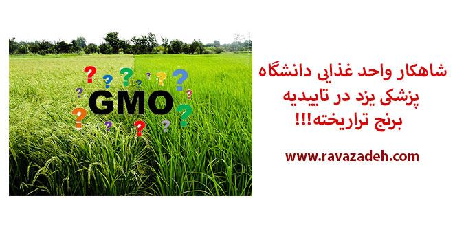 Photo of شاهکار واحد غذایی دانشگاه پزشکی یزد در تاییدیه برنج تراریخته!!!