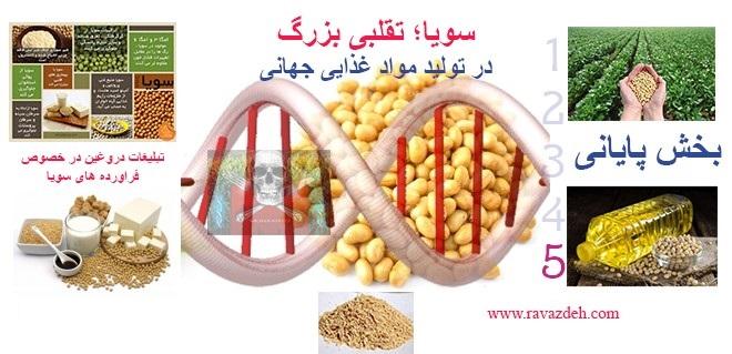 Photo of سویا؛ تقلبی بزرگ در تولید مواد غذایی جهانی – بخش پنجم (پایانی)