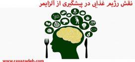 نقش رژیم غذایی در پیشگیری از آلزایمر