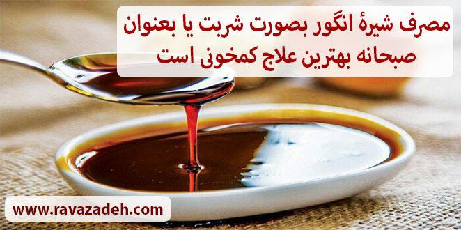 Photo of از خواص شیرۀ انگور