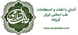 آشنایی با لغات و اصطلاحات طب اسلامی ایرانی: فَرزِجَه