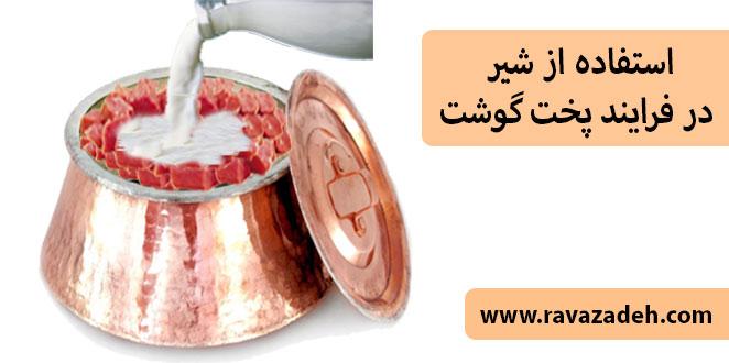 Photo of استفاده از شیر در فرایند پخت گوشت