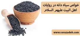 خواص سیاه دانه در روایات اهل البیت علیهم السلام