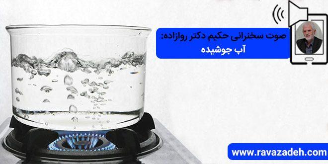 صوت سخنرانی حکیم دکتر روازاده: آب جوشیده