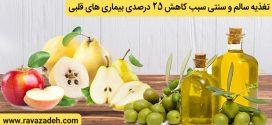 تغذیه سالم و سنتی سبب کاهش ۲۵ درصدی بیماری های قلبی
